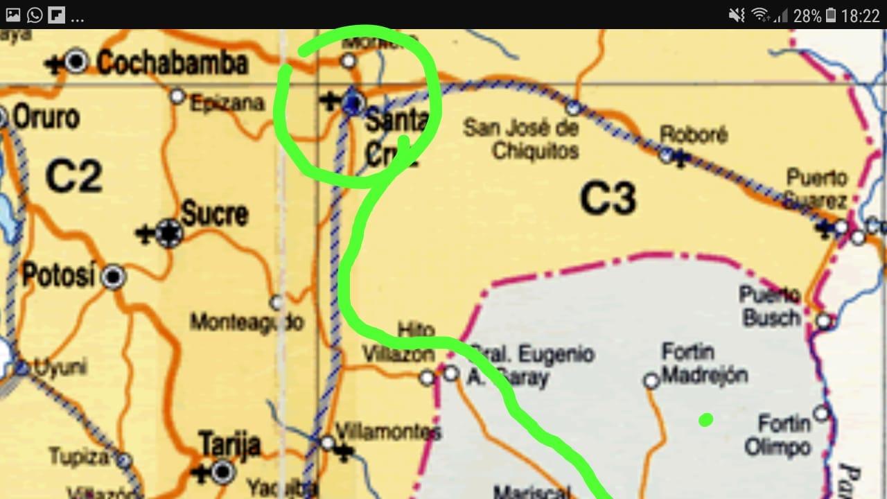 EQUIPO DEL PARAGUAY DEFINE SU RUTA PARA ACTIVA BOLIVIA